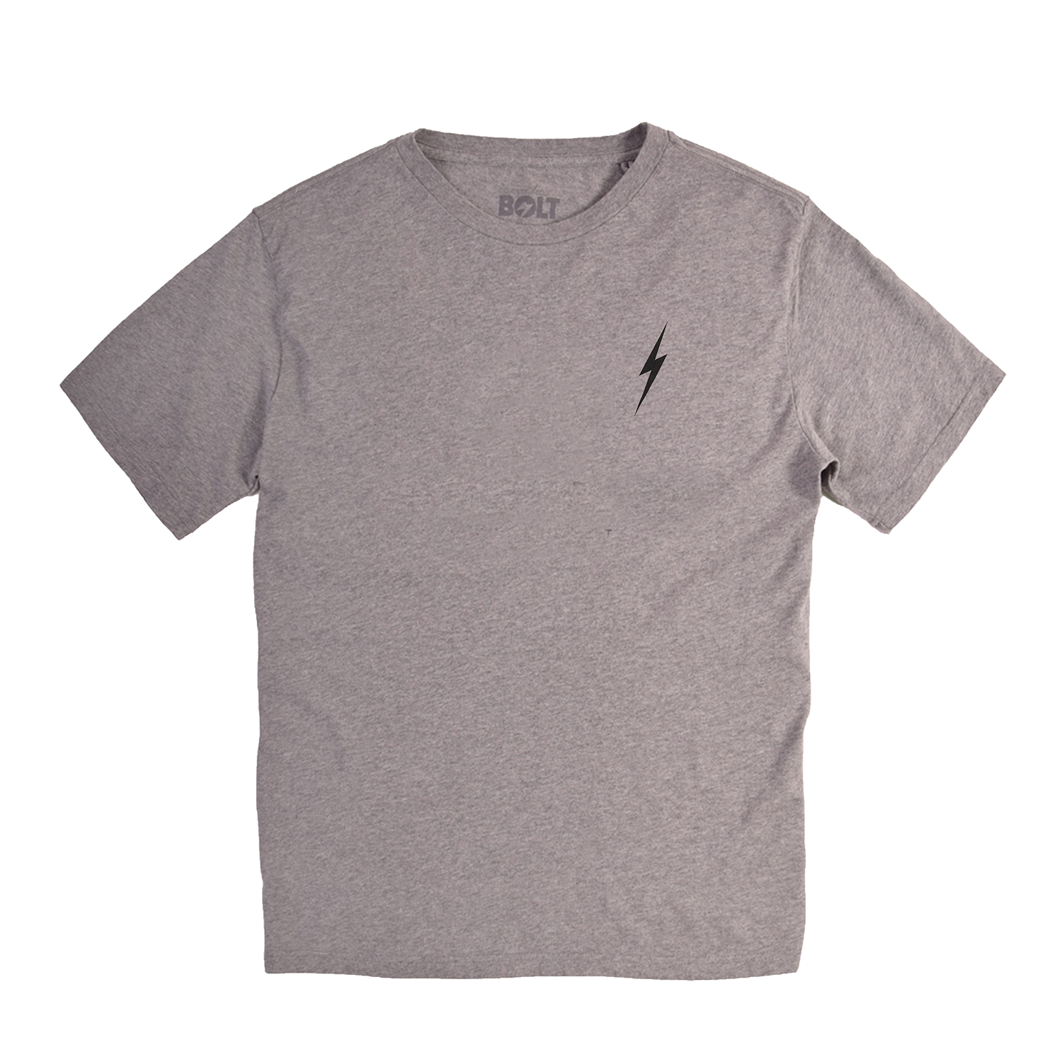 Lightning Bolt Essentials T-shirt - Heather Grey