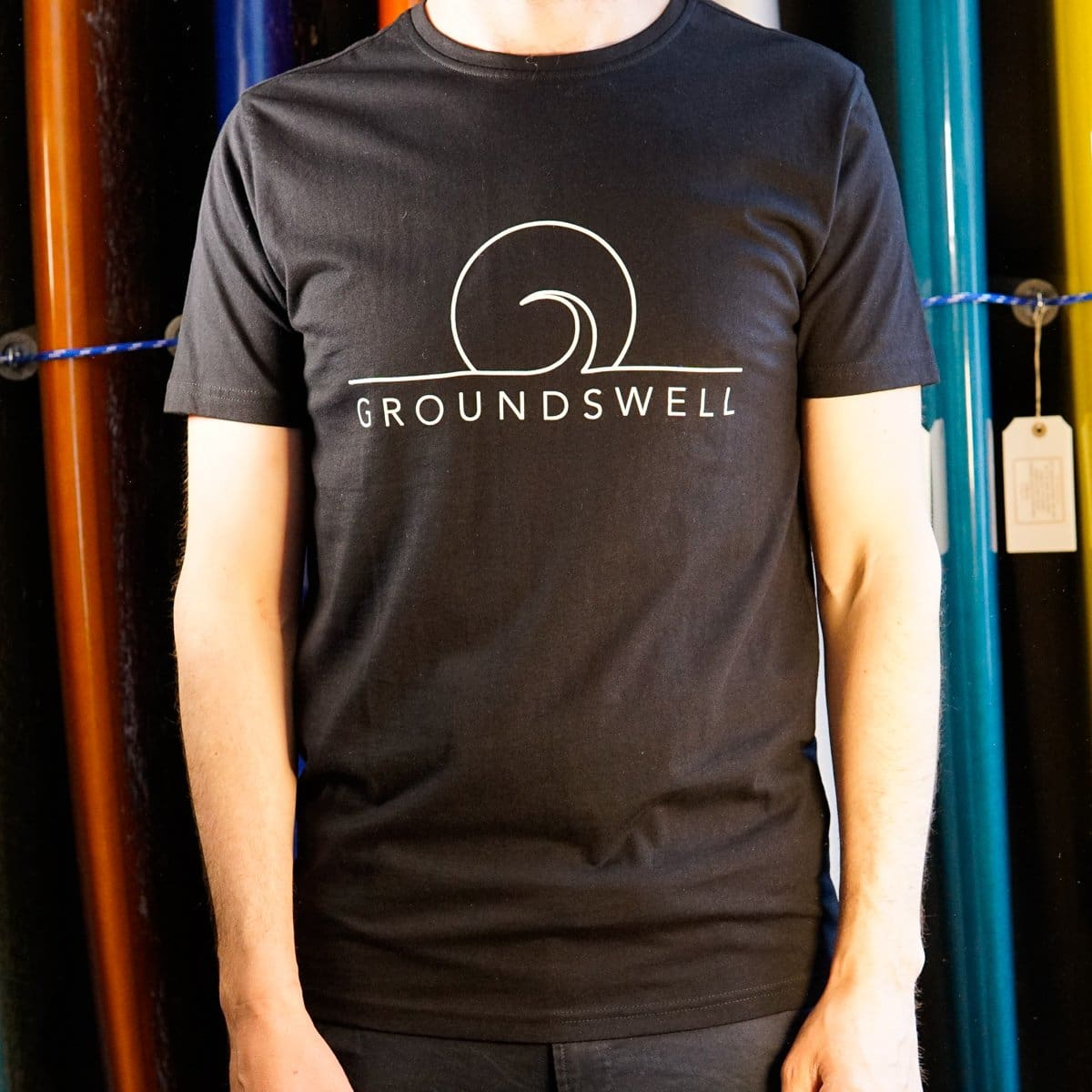 Groundswell Eco T-shirt - s / Black