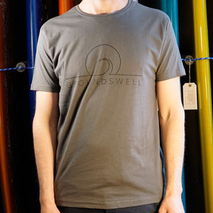 Groundswell Eco T-shirt - s / Grey