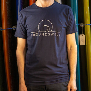 Groundswell Eco T-shirt - s / Navy