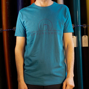 Groundswell Eco T-shirt - s / Teal