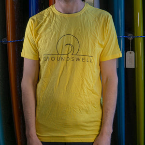 Groundswell Eco T-shirt - s / Yellow