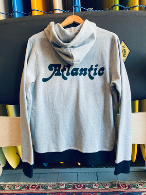 Atlantic Team Hoodie Heather/Navy Blue