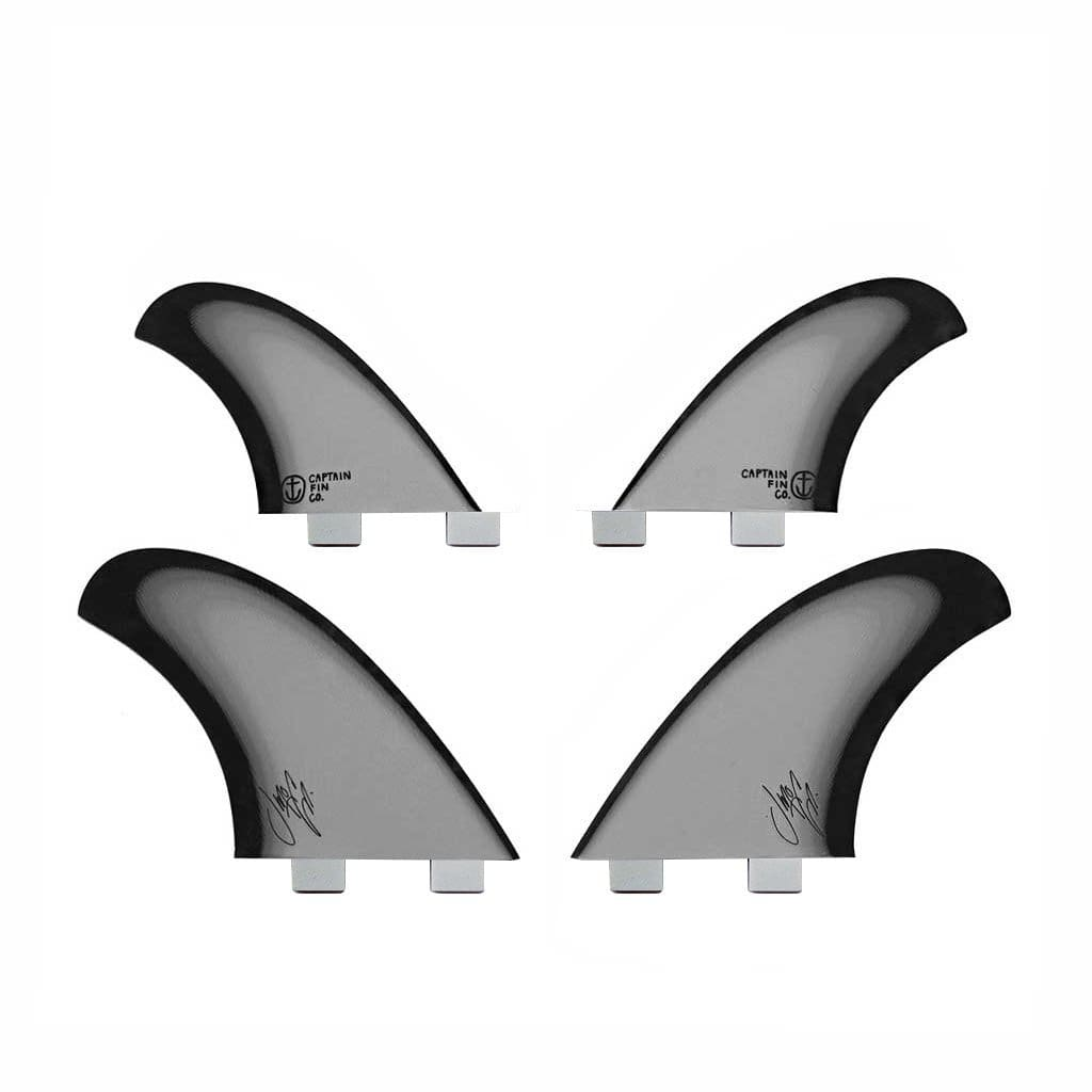 Jeff McCallum Quad Especial TT Black - fins