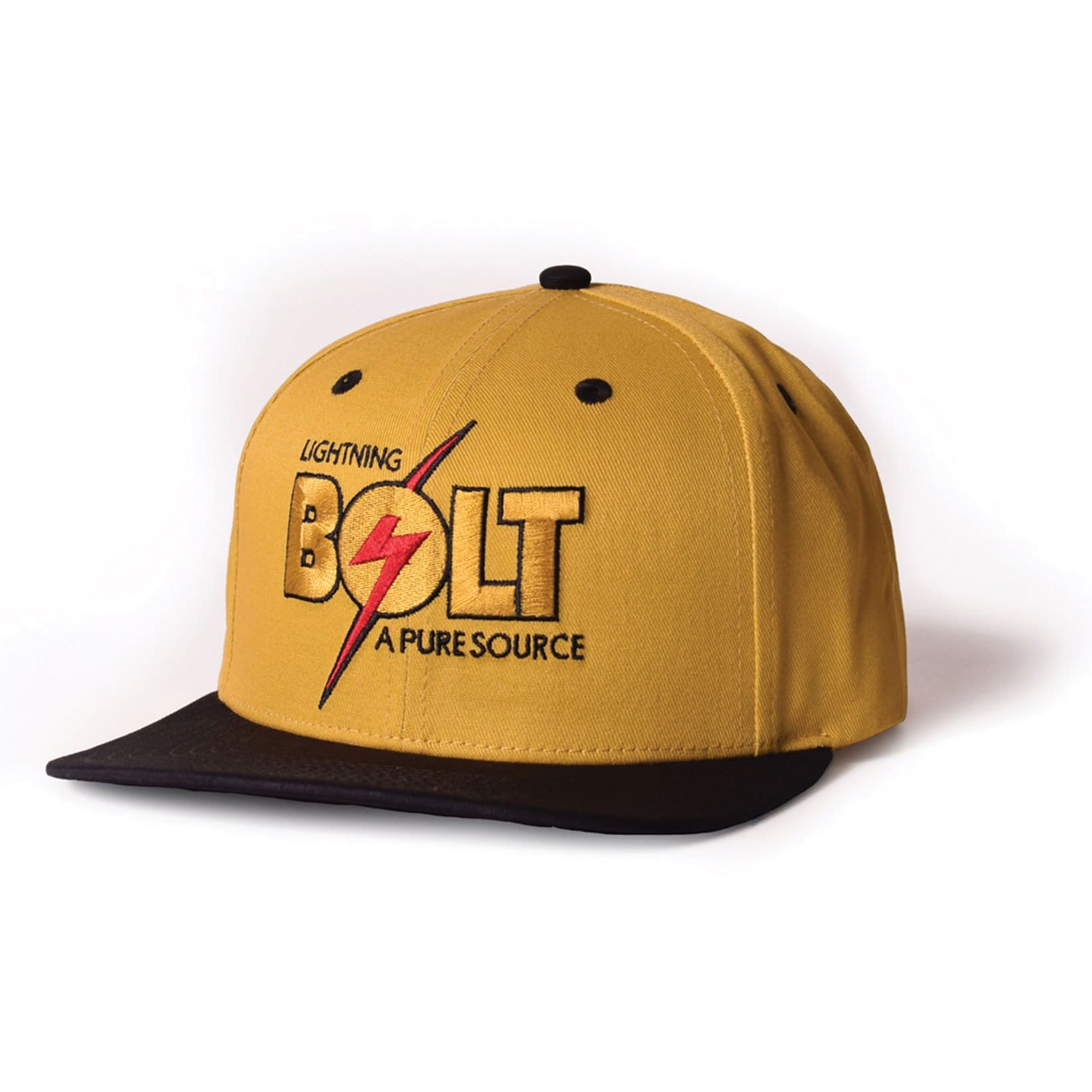 Lightning Bolt Pure Source Cap (Nugget Gold) - clothing