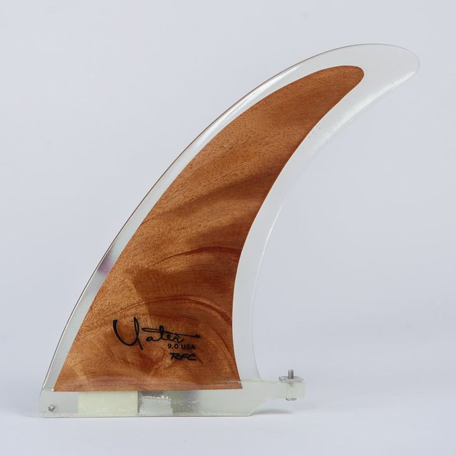 Rainbow Fin Company Yater Wood 9 - fins