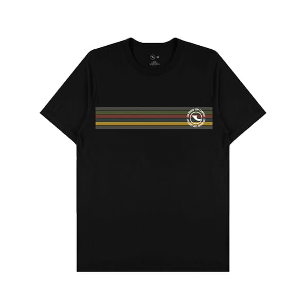 San Onofre Surf Co Down The Line T Shirt Black - clothing
