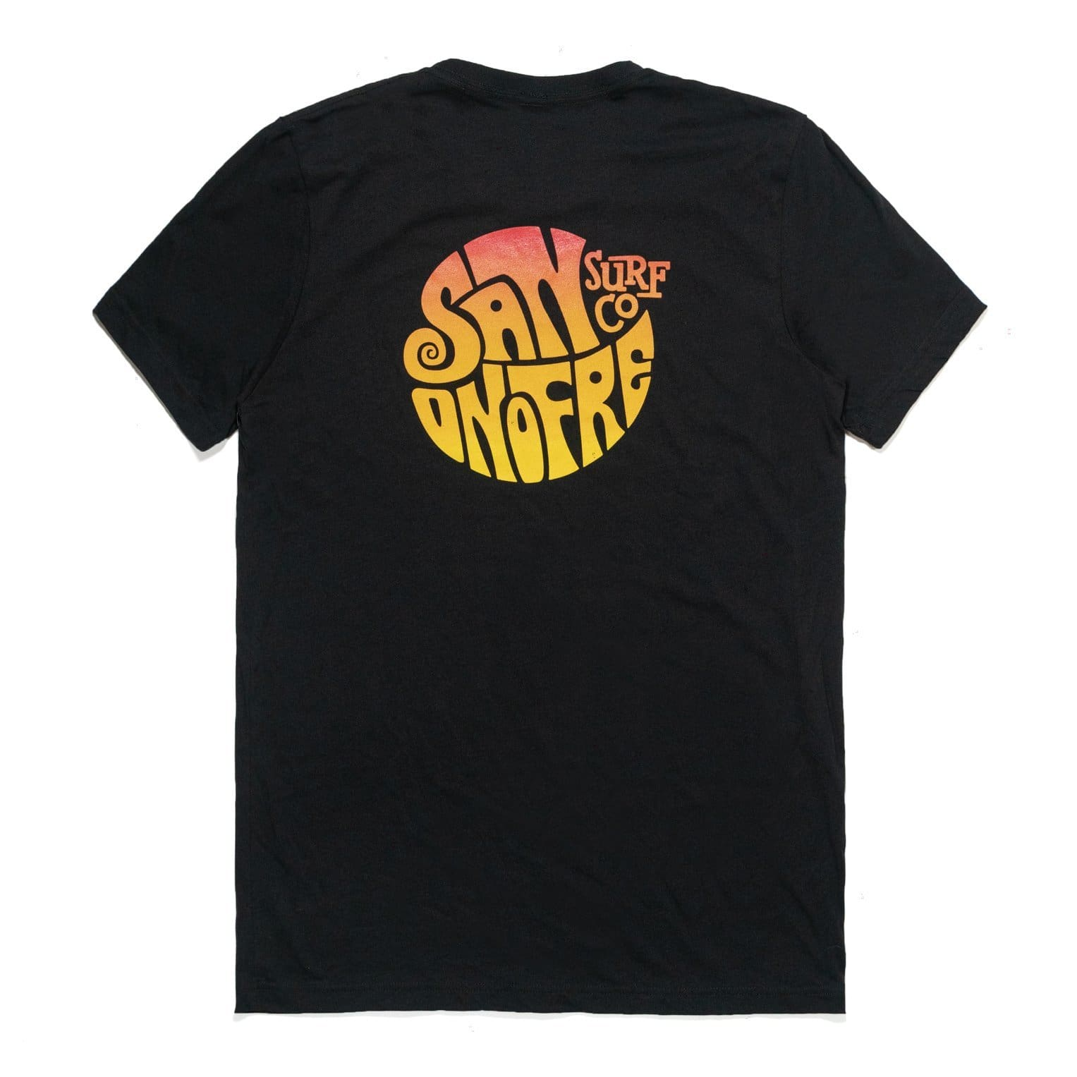 San Onofre Surf Co Knot T Shirt Black - clothing