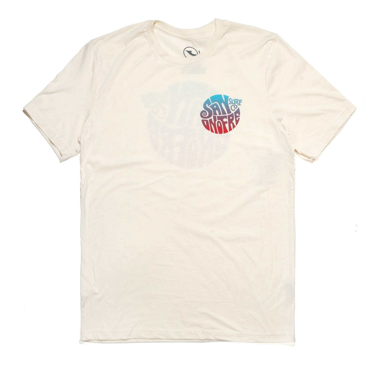 San Onofre Surf Co Knot T Shirt Natural - clothing