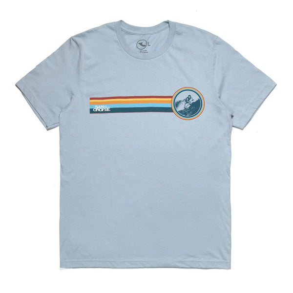 San Onofre Surf Co Libre T shirt Light Blue - clothing