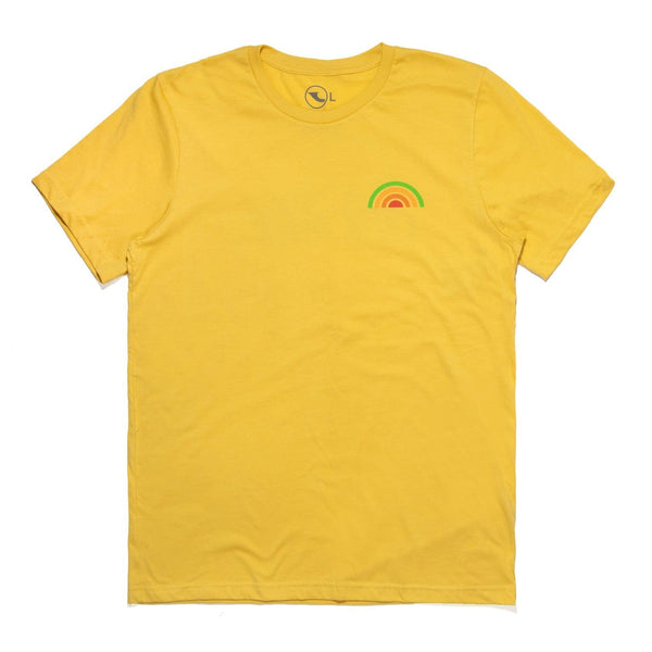 San Onofre Surf Co Misto T Shirt Yellow - clothing