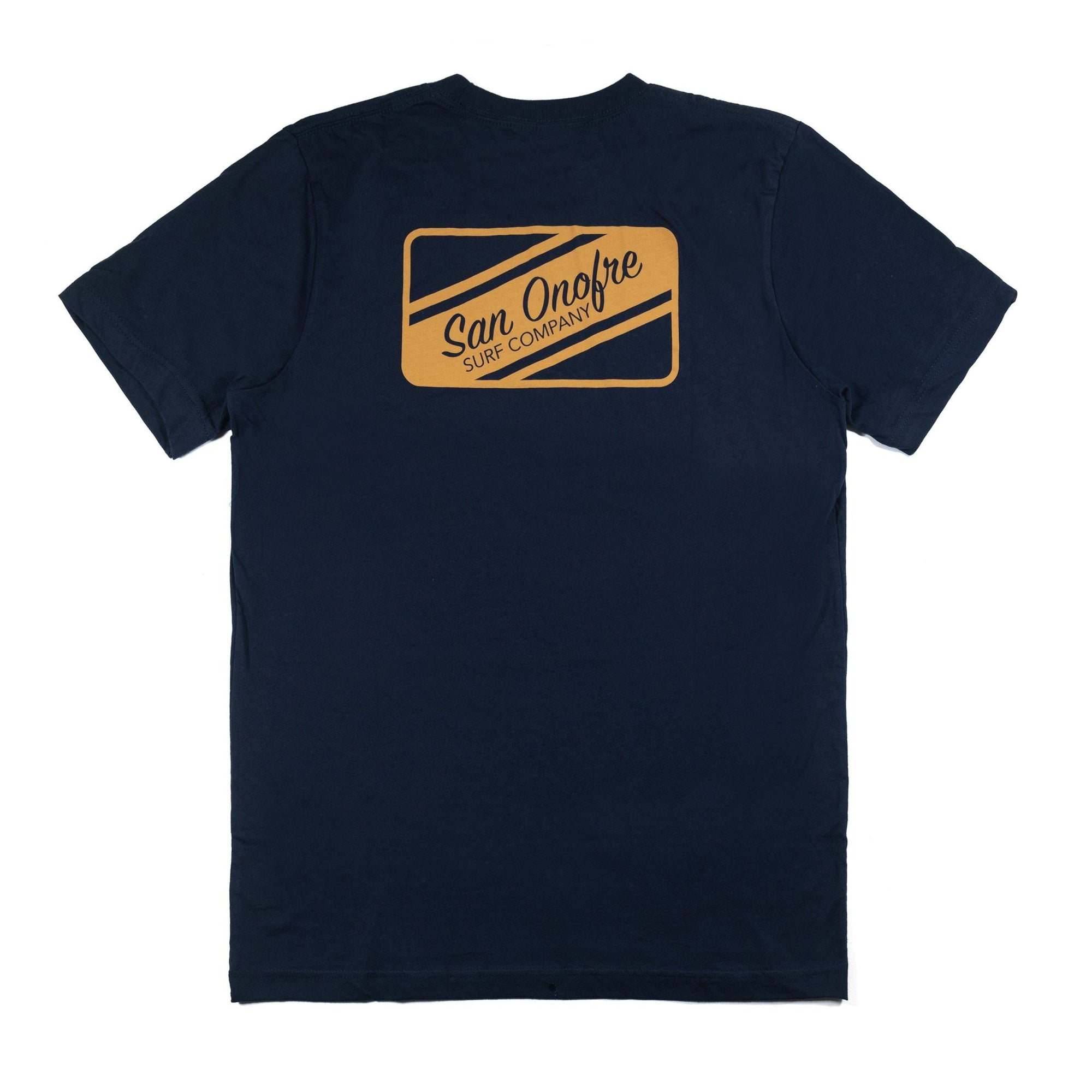 San Onofre Surf Clothing Co. Striper Patch T - Navy