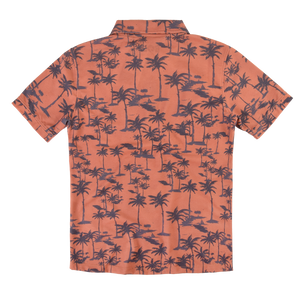 Lightning Bolt Palm Trees Polo Shirt