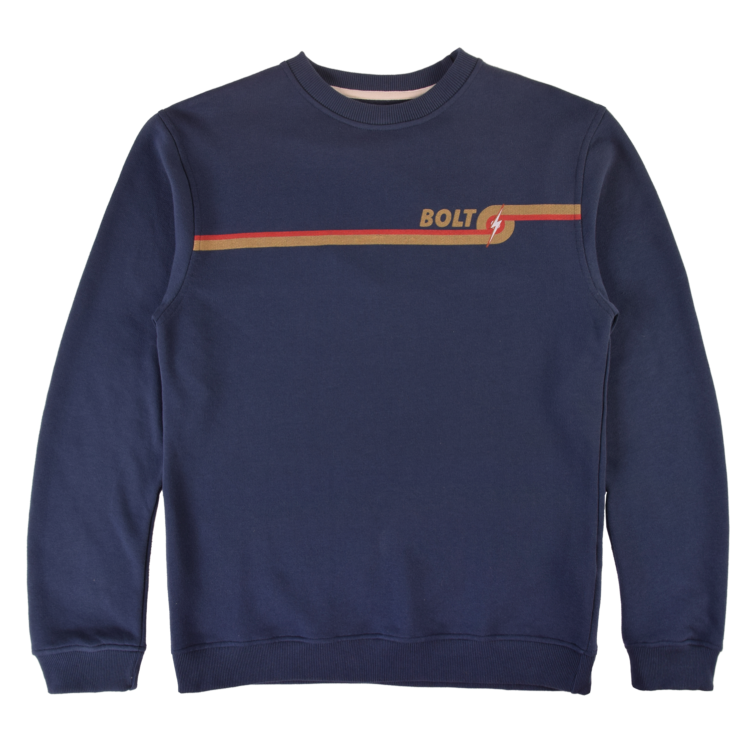 Lightning Bolt Circle Fleece Crew