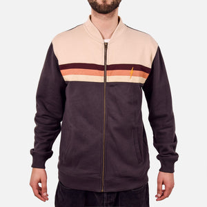 Lightning Bolt Horizon Fleece Bomber