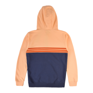 Lightning Bolt Colour Block Fleece Zip Hoodie