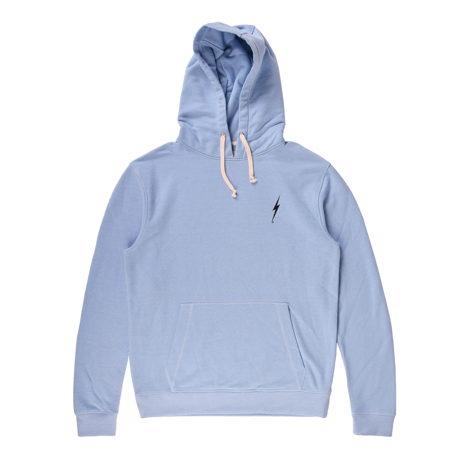 Lightning Bolt Double Strike Hoodie - Bluestone