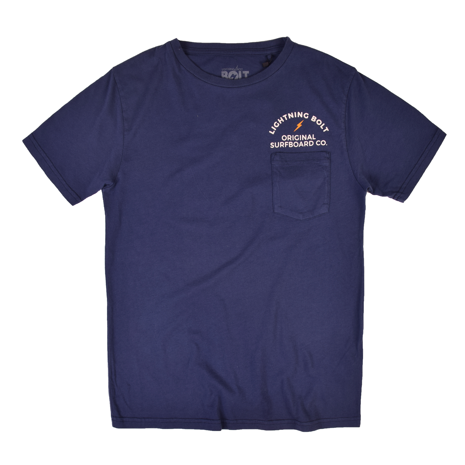 Lightning Bolt Honolulu Tee Vintage Wash - Insignia Blue