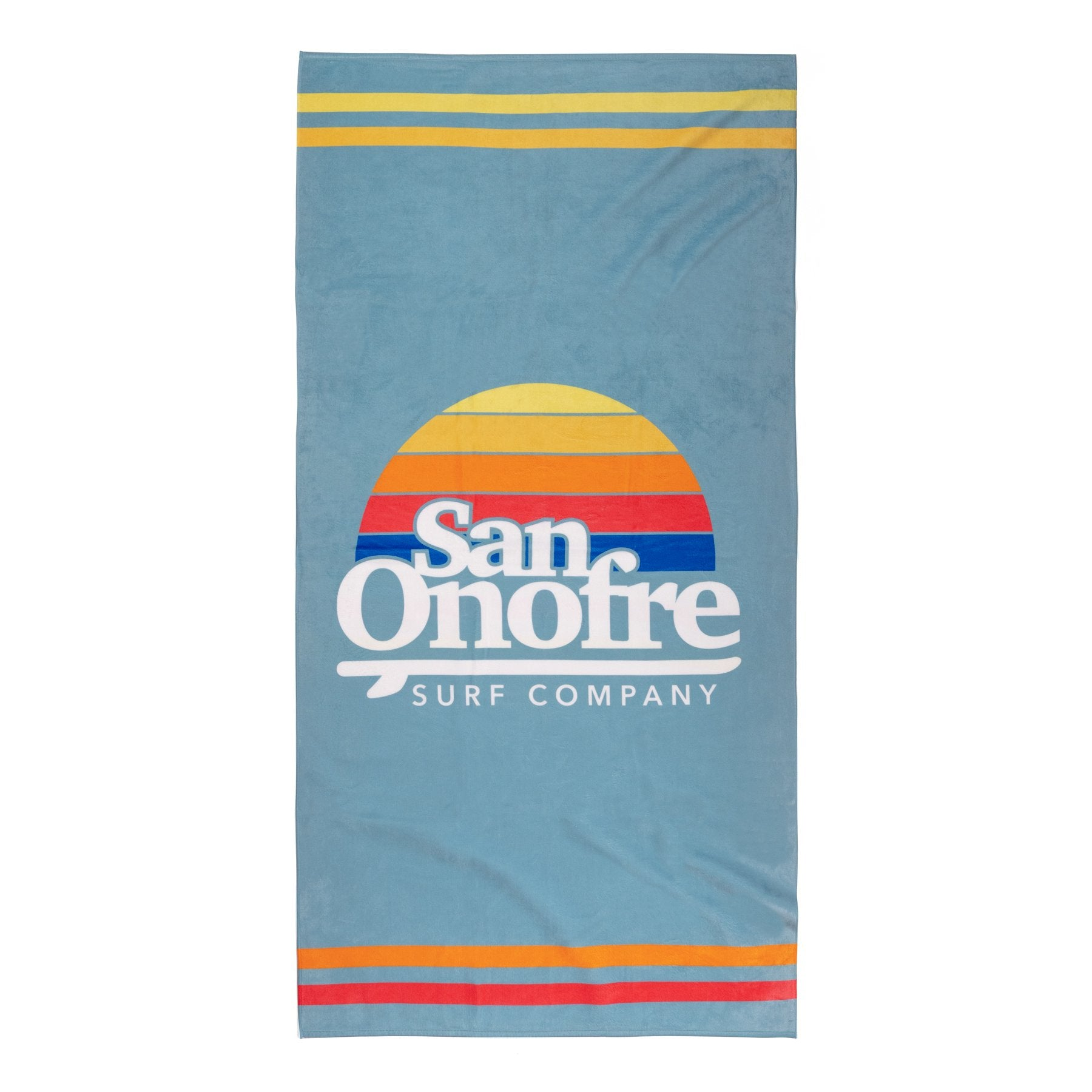San Onofre Old School Sun Towel