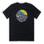 San Onofre Surf Clothing Co. Sunrise Tee - Black