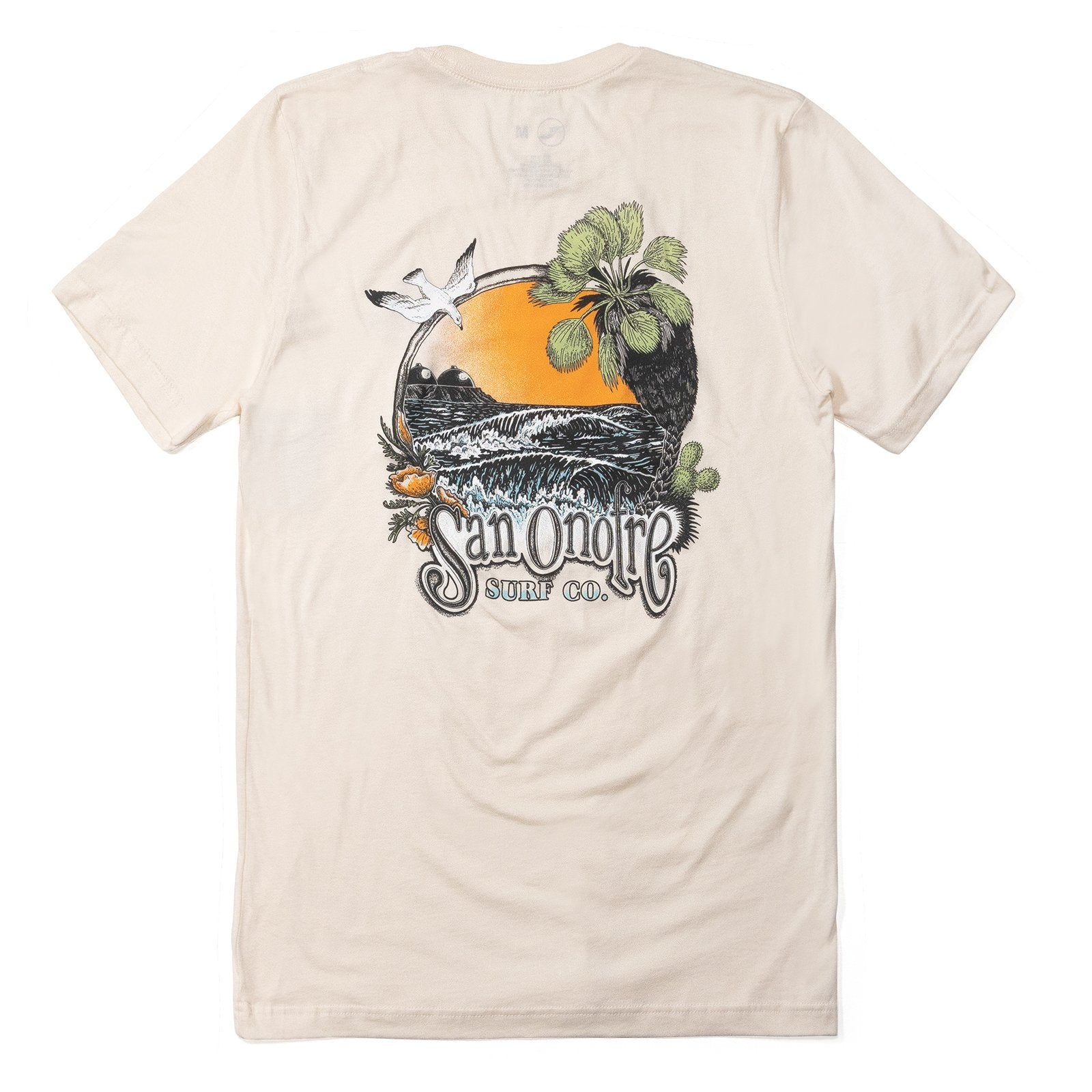San Onofre Surf Clothing Co. Daydream T - Natural