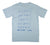 True Ames Template T Shirt Sky Blue