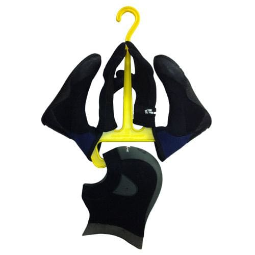 Wetsuit Accessory Hanger Black/Yellow