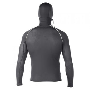 XCEL DRYLOCK SMART FIBRE LONG SLEEVED VEST WITH 2MM HOOD