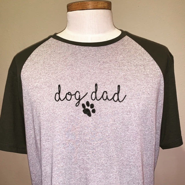 Dog Dad Tee Shirt