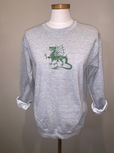 Custom Order: Dragon crew neck sweatshirt