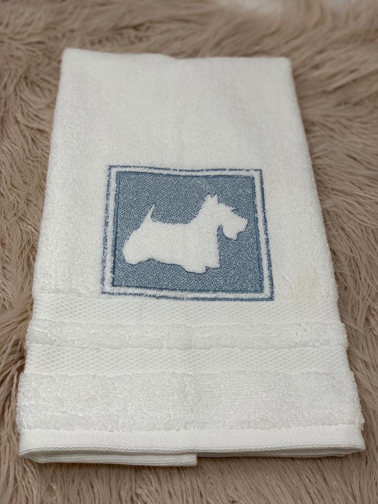 Hand towel - Scottish Terrier