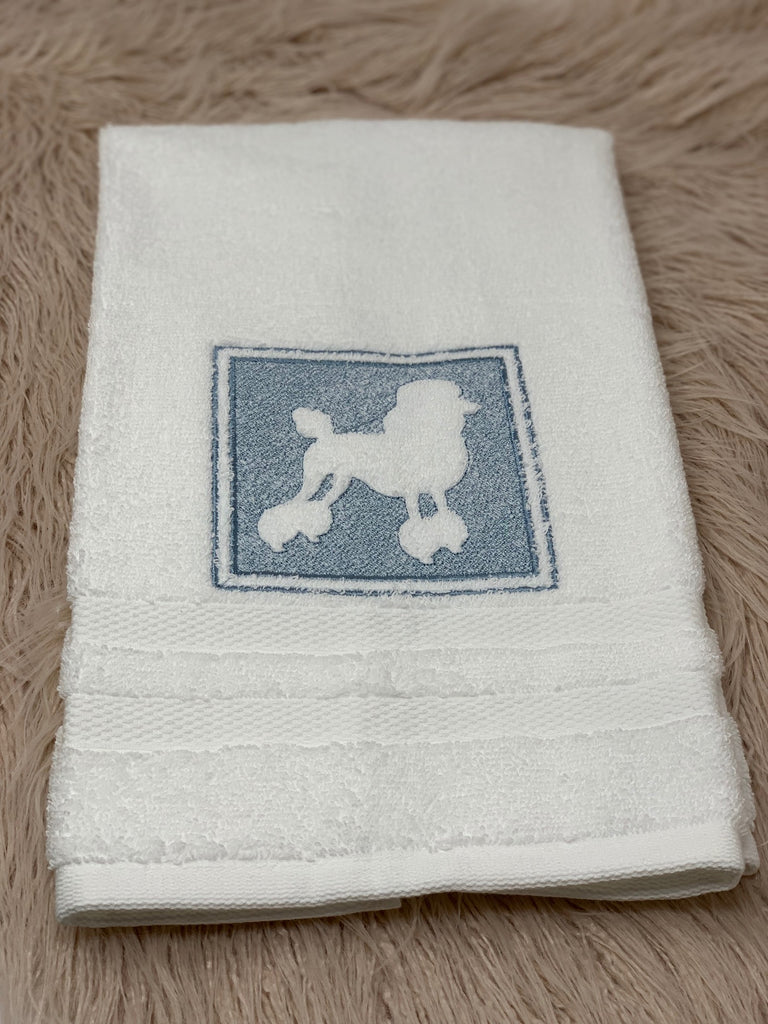 Hand towel - Poodle