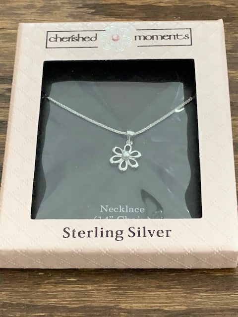 Daisy Sterling Silver Necklace