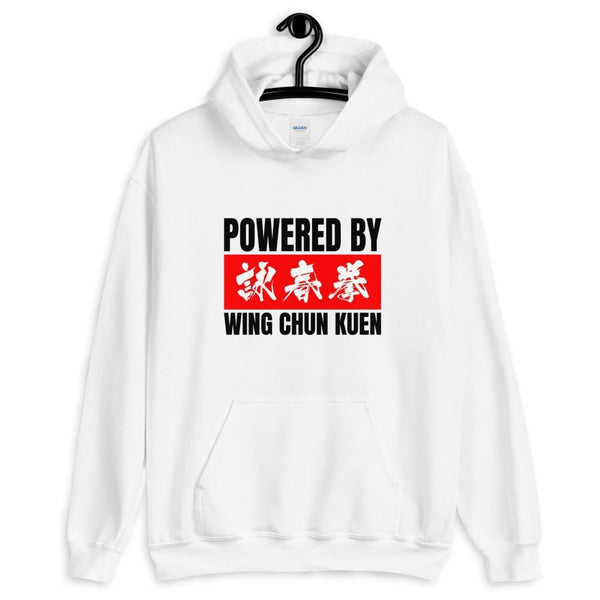 Powered By Wing Chun Kuen - Gildan Hoodie