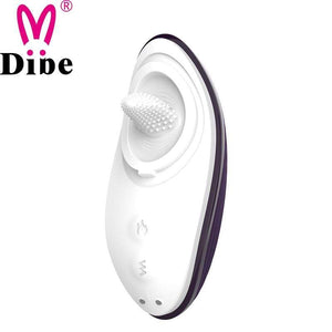 Dibe Tongue Licking Heating Vibrator-Xsecret- Strive to protect your secret