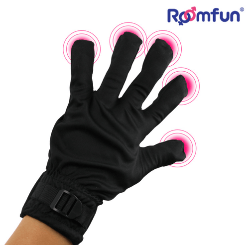RoomFun Strong Vibration Glove For her For couple imported from USA-Xsecret- Strive to protect your secret