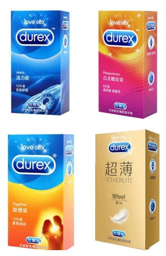 Durex Collections - Love / Fetherlite / Air / Jeans / Pleasure Max / Together-Xsecret- Strive to protect your secret