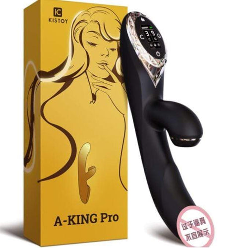KisToy A-KING Inflation Vibrator with LED screen