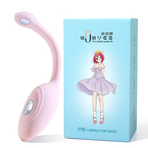 WOWYES P5 Wireless Jump Egg With Remote Control ,App Control Long Distance SHOCKING Jump Egg Vibrator FOR HER