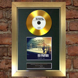 #162 Noel Gallagher GOLD DISC Cd Dream On Single Signed Autograph Mounted Print