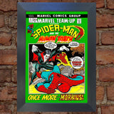 SPIDERMAN Comic Cover 3rd Edition Cover Reproduction Vintage Wall Art Print #9
