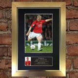 PAUL SCHOLES Autograph Mounted Signed Photo Reproduction Print A4 50
