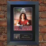 ASHLEY MCBRYDE Photo Autograph Mounted Repro Signed Framed Print A4 785