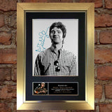 NOEL GALLAGHER Mounted Signed Photo Reproduction Autograph Print A4 75