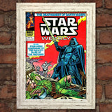 STAR WARS Comic Cover 85th Edition Reproduction Rare Vintage Wall Art Print #18
