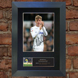 JACK CLARKE Leeds United Mounted Signed Photo Reproduction Autograph Print 789