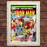 IRON MAN Comic Cover 66th Edition Cover Reproduction Vintage Wall Art Print #8