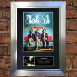 TWO DOOR CINEMA CLUB Mounted Signed Photo Reproduction Autograph Print A4 281