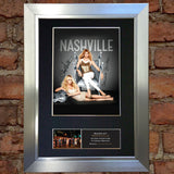NASHVILLE Mounted Signed Photo Reproduction Autograph Print A4 368