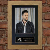 BRANDON FLOWERS Mounted Signed Photo Reproduction Autograph Print A4 160